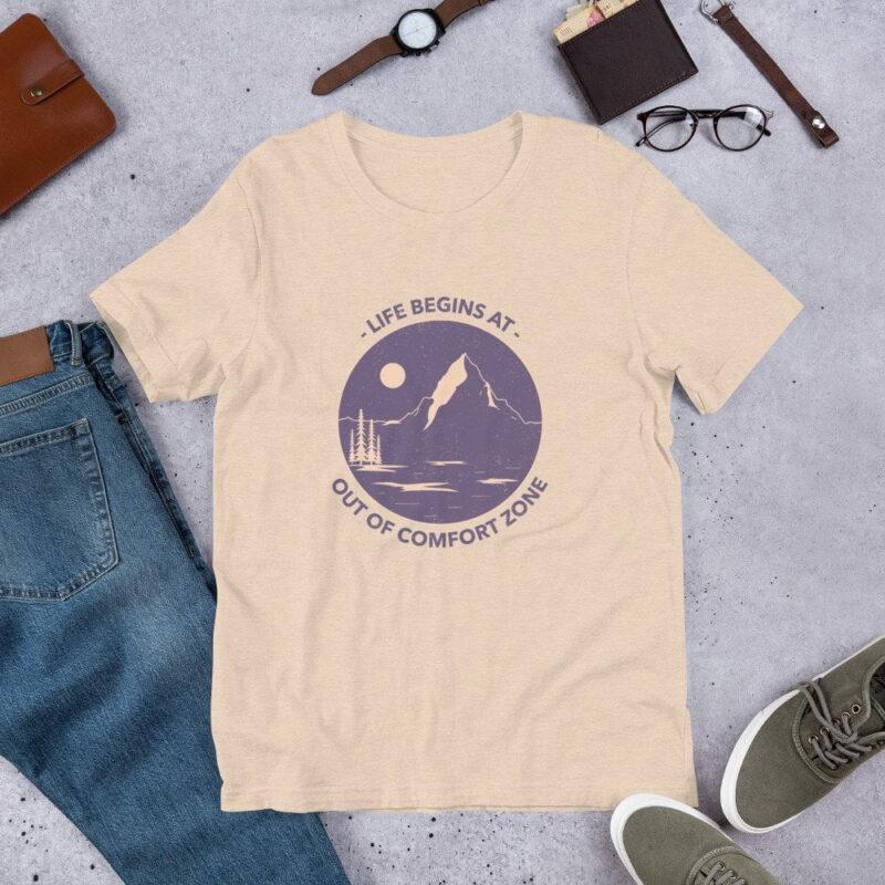 Take A Leap Of Faith Unisex Premium T-shirt 7