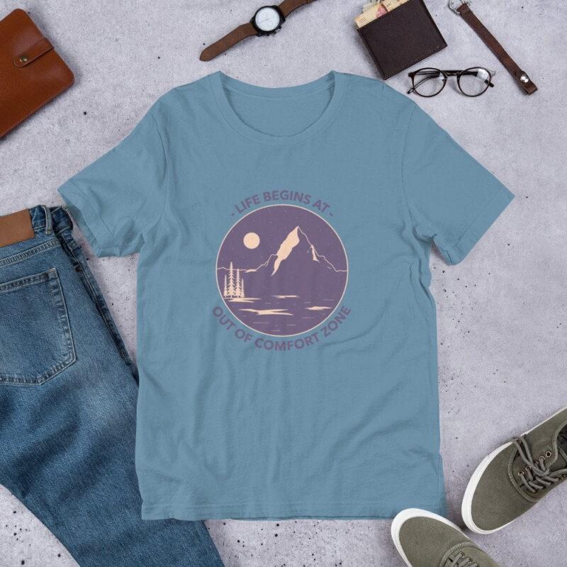 Take A Leap Of Faith Unisex Premium T-shirt 4