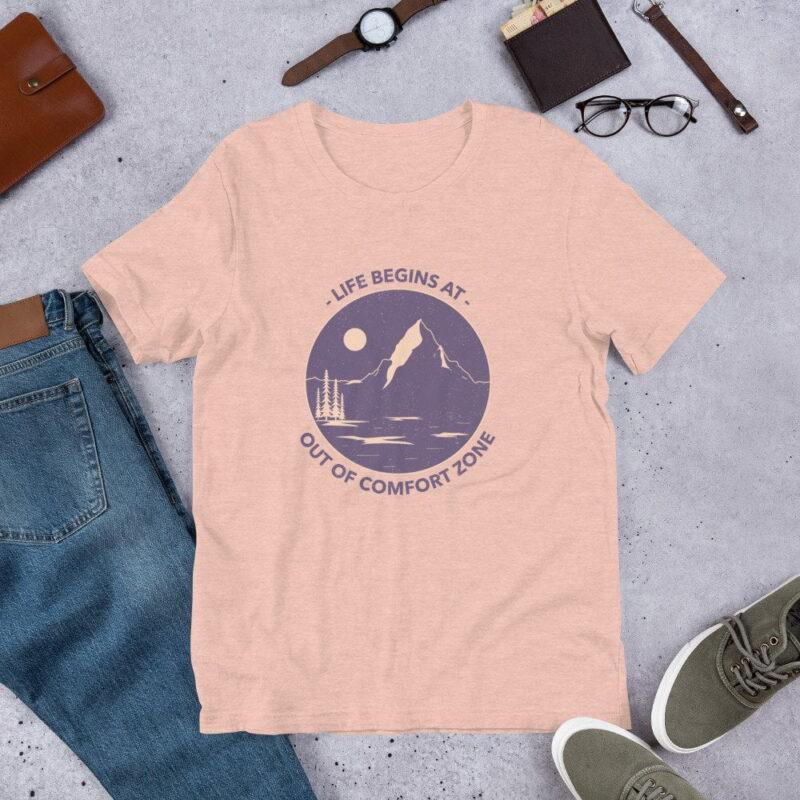 Take A Leap Of Faith Unisex Premium T-shirt 9