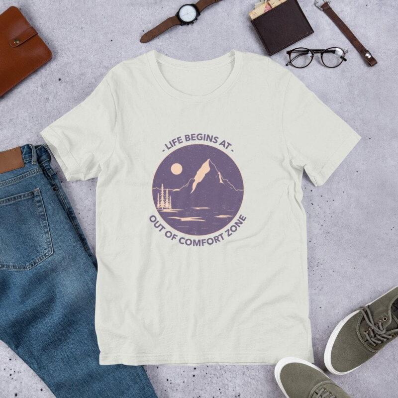 Take A Leap Of Faith Unisex Premium T-shirt 6