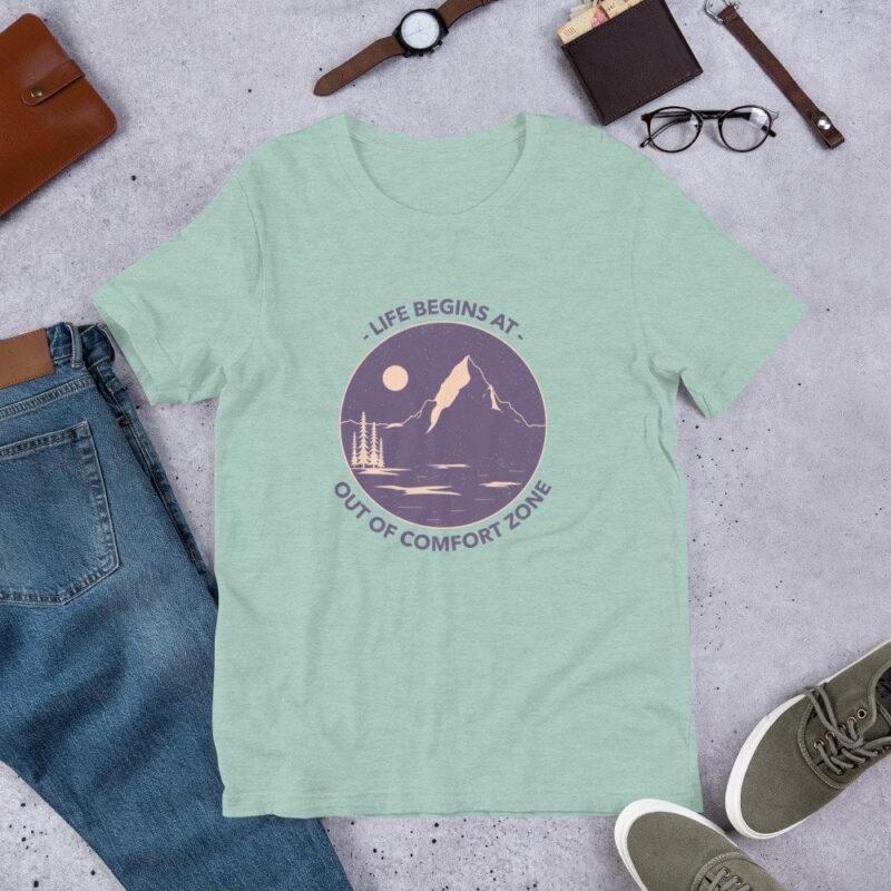 Take A Leap Of Faith Unisex Premium T-shirt 5