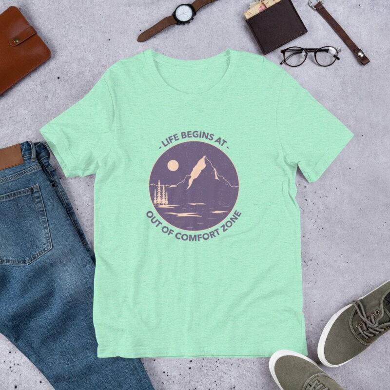 Take A Leap Of Faith Unisex Premium T-shirt 12