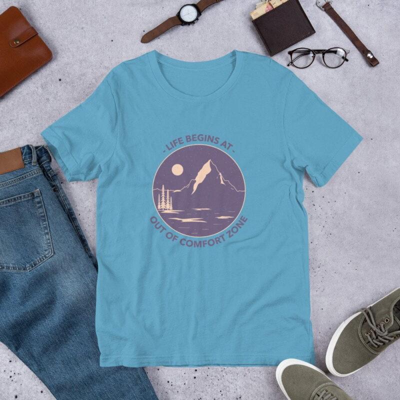 Take A Leap Of Faith Unisex Premium T-shirt 11