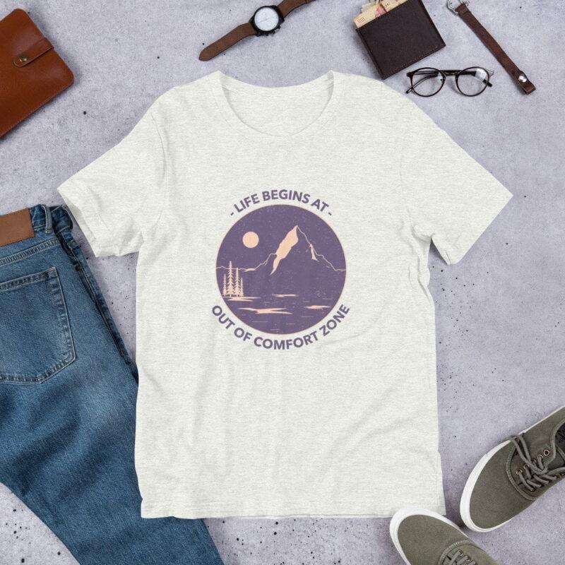 Take A Leap Of Faith Unisex Premium T-shirt 1