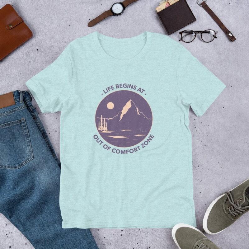 Take A Leap Of Faith Unisex Premium T-shirt 10