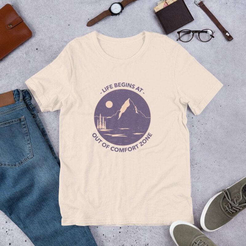 Take A Leap Of Faith Unisex Premium T-shirt 3