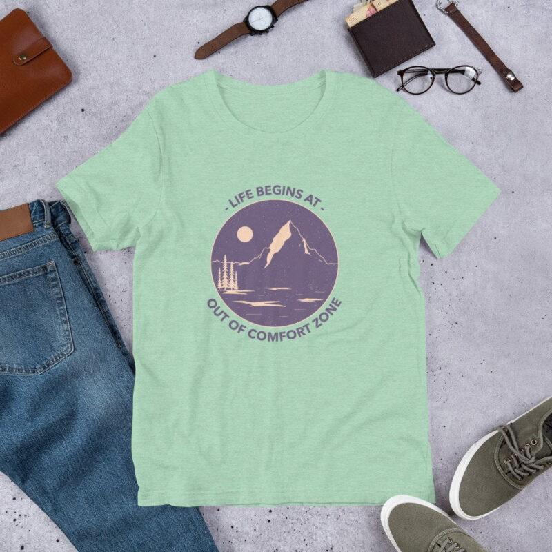 Take A Leap Of Faith Unisex Premium T-shirt 8