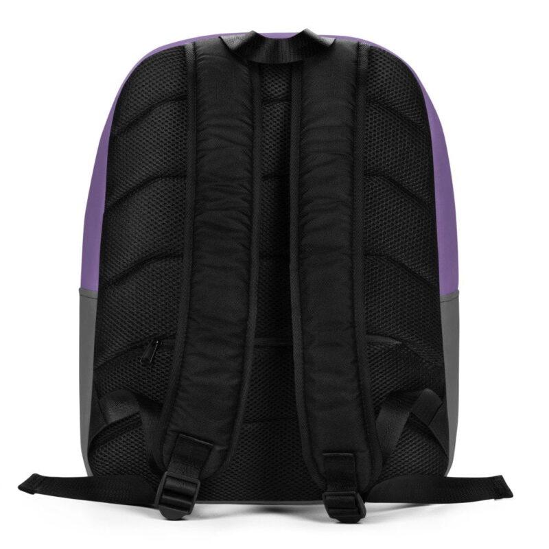 Purple Feather Minimalist Backpack 4