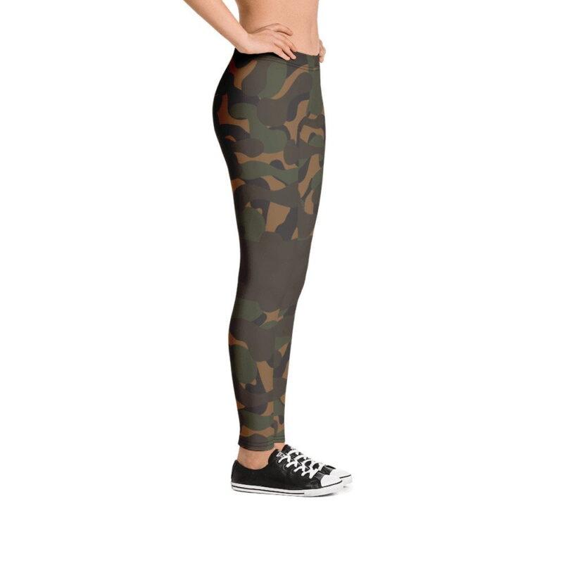 Dark Camouflage Leggings 5