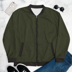 Olive Women's Bomber Jacket