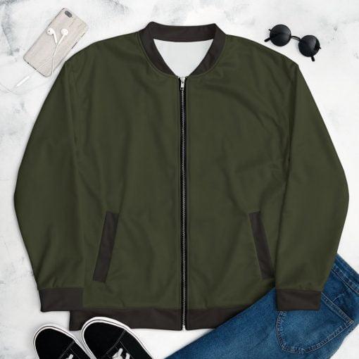 Olive Women's Bomber Jacket