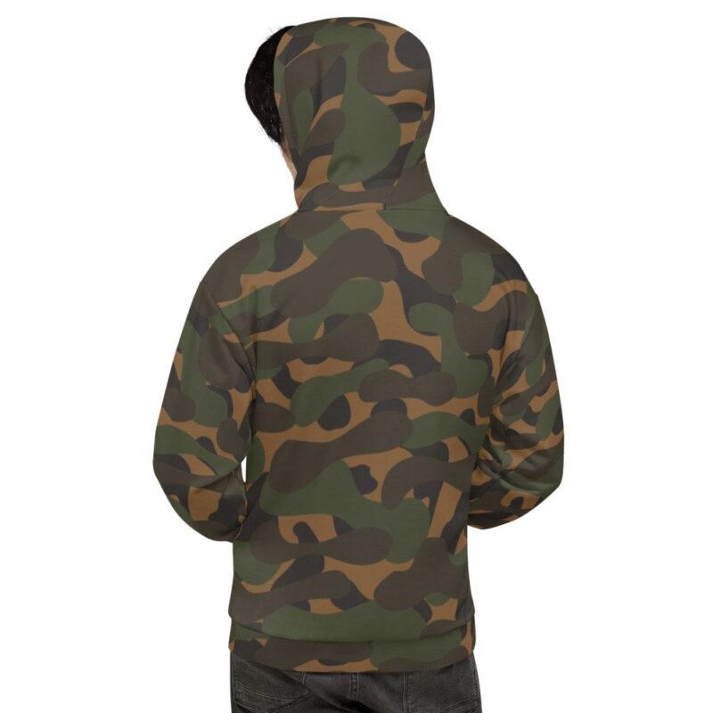 Dark Camouflage Men's Hoodie 2