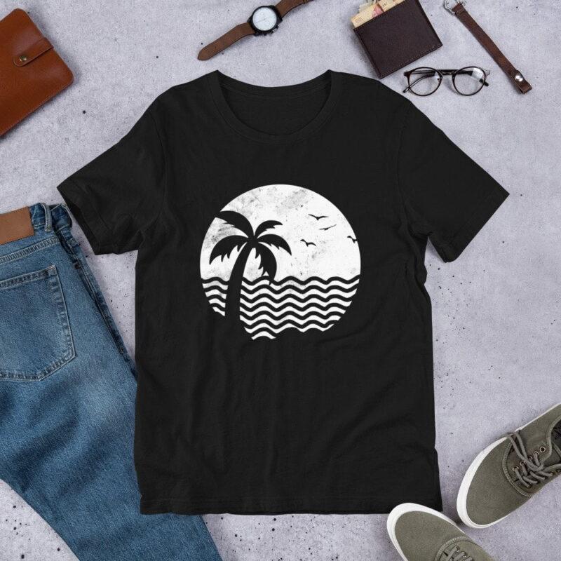 Beach Life Short-Sleeve Unisex T-Shirt