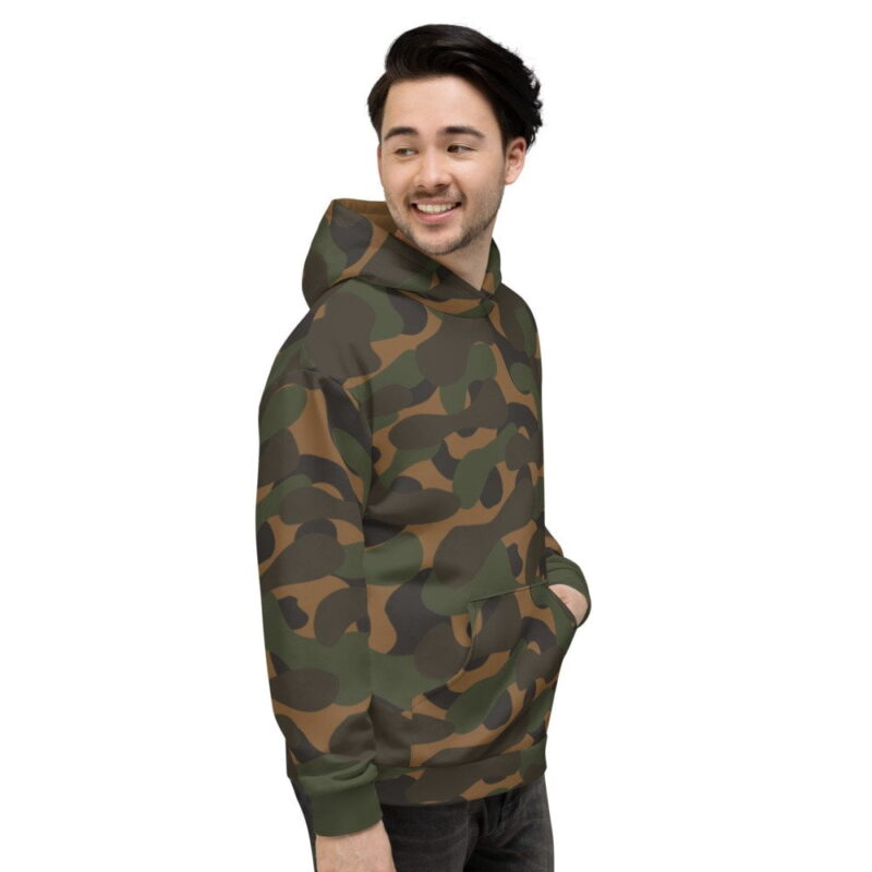 Dark Camouflage Men's Hoodie 3