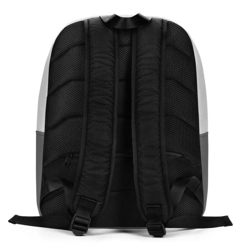 2 Cool 4 School Grey Skull Minimalist Backpack 4