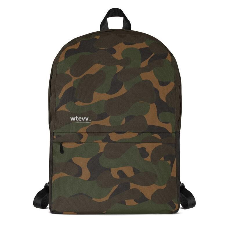 Dark Camouflage Backpack 1