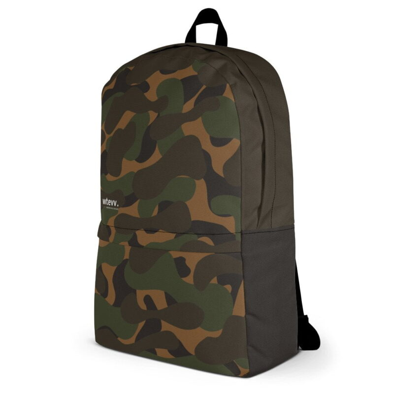 Dark Camouflage Backpack 3