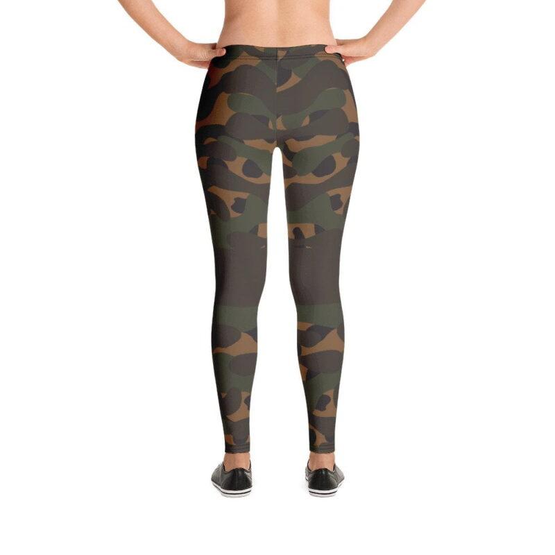 Dark Camouflage Leggings 3