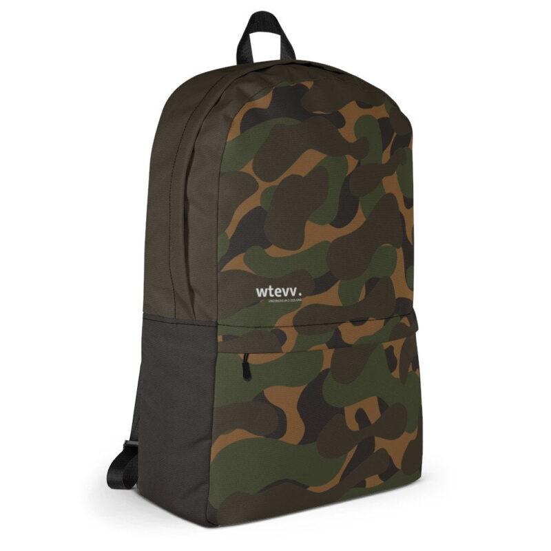 Dark Camouflage Backpack 4