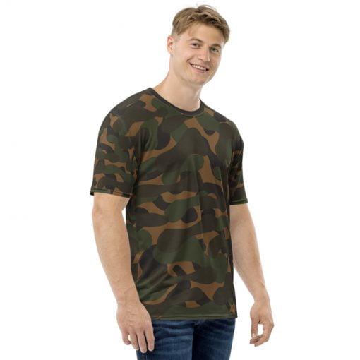 Dark camouflage Men's Printed T-shirt