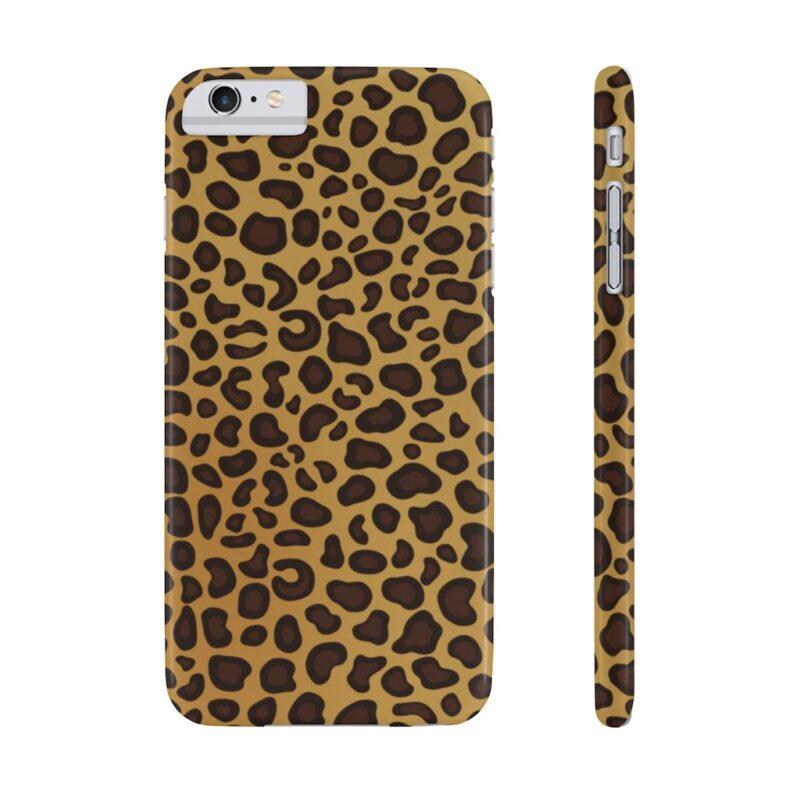 Leopard Printed Case Mate Slim iPhone Cases 17