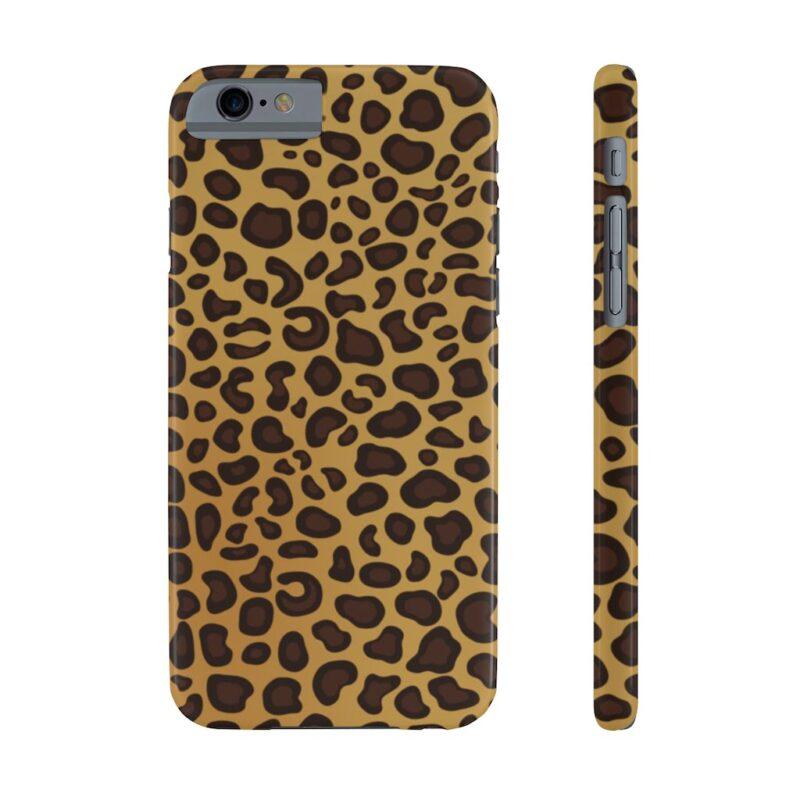 Leopard Printed Case Mate Slim iPhone Cases 16