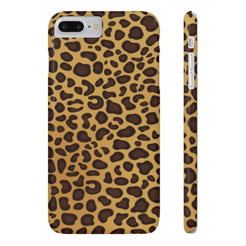 Leopard Printed Case Mate Slim iPhone Cases 15