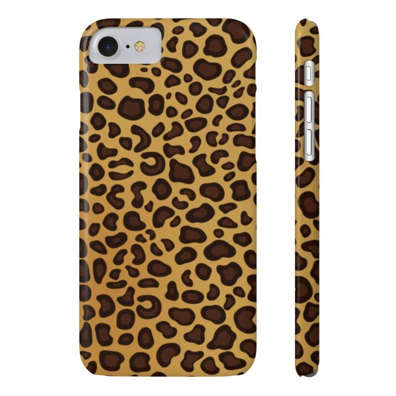 Leopard Printed Case Mate Slim iPhone Cases 14