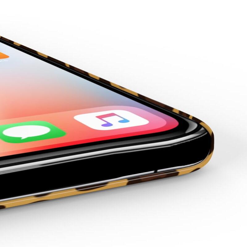 Leopard Printed Case Mate Slim iPhone Cases 5