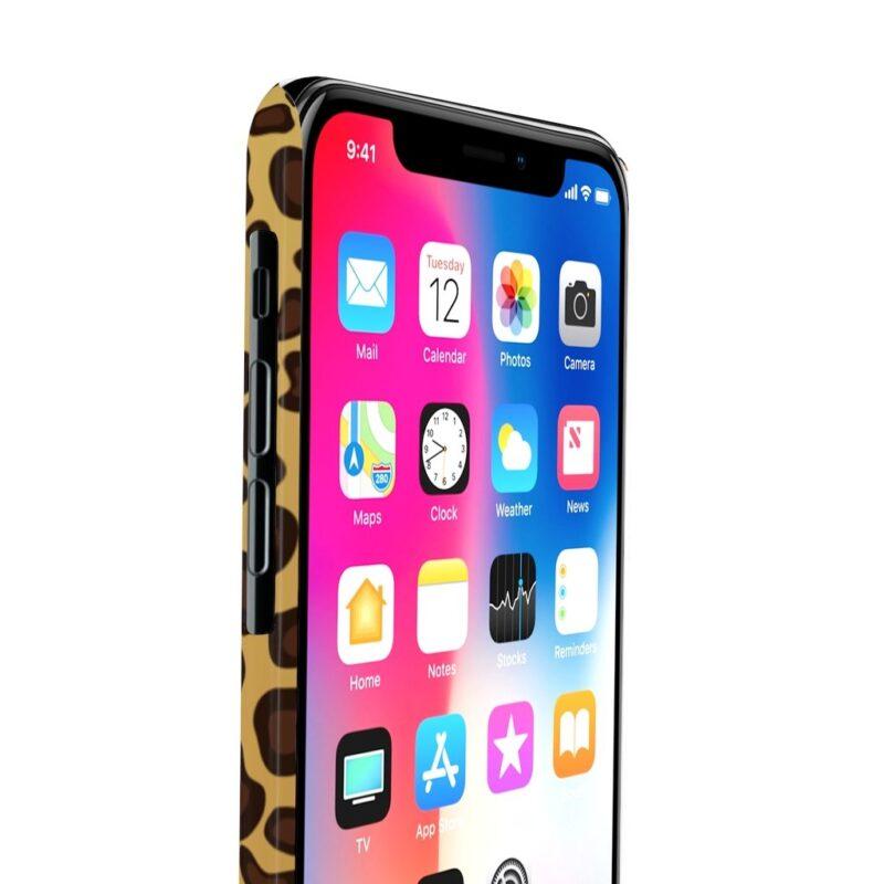 Leopard Printed Case Mate Slim iPhone Cases 7