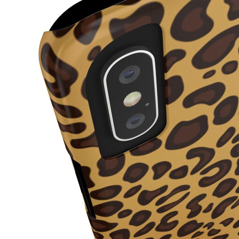 Leopard Printed Case Mate Slim iPhone Cases 8