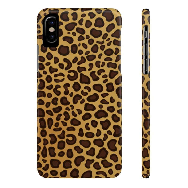 Leopard Printed Case Mate Slim iPhone Cases 2