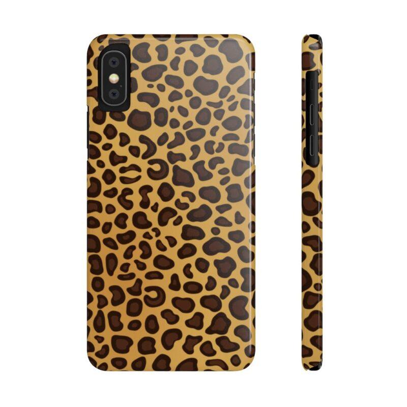 Leopard Printed Case Mate Slim iPhone Cases 9