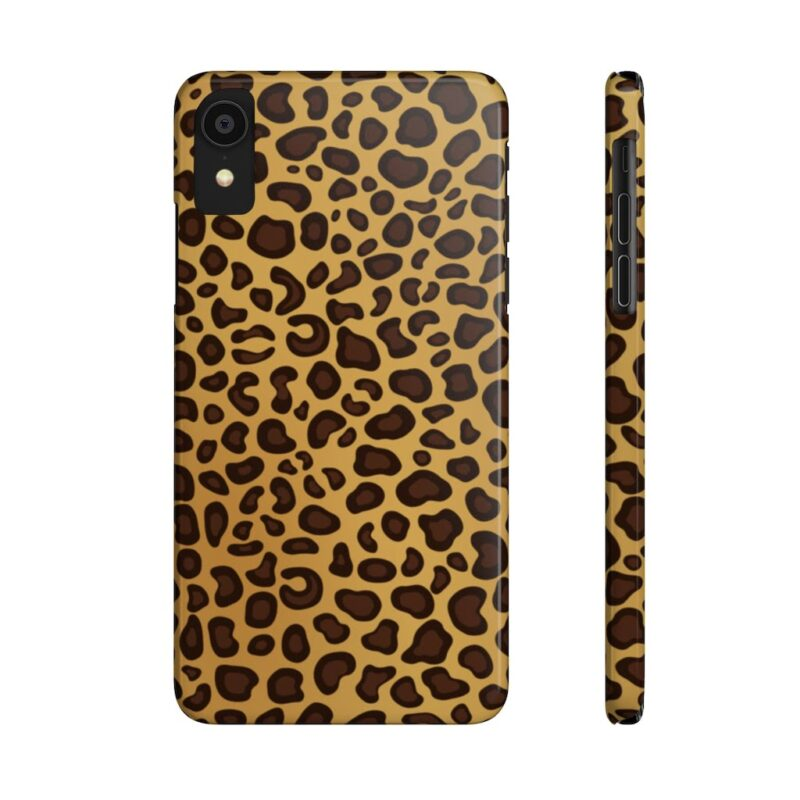 Leopard Printed Case Mate Slim iPhone Cases 11