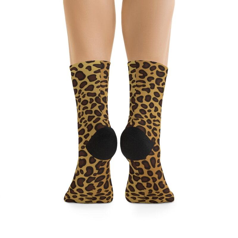 Leopard Printed Socks 2