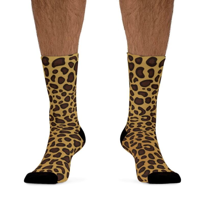 Leopard Printed Socks 3