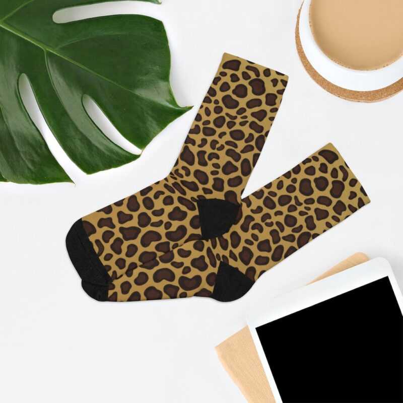 Leopard Printed Socks 7