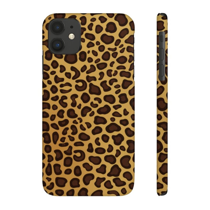Leopard Printed Case Mate Slim iPhone Cases 12