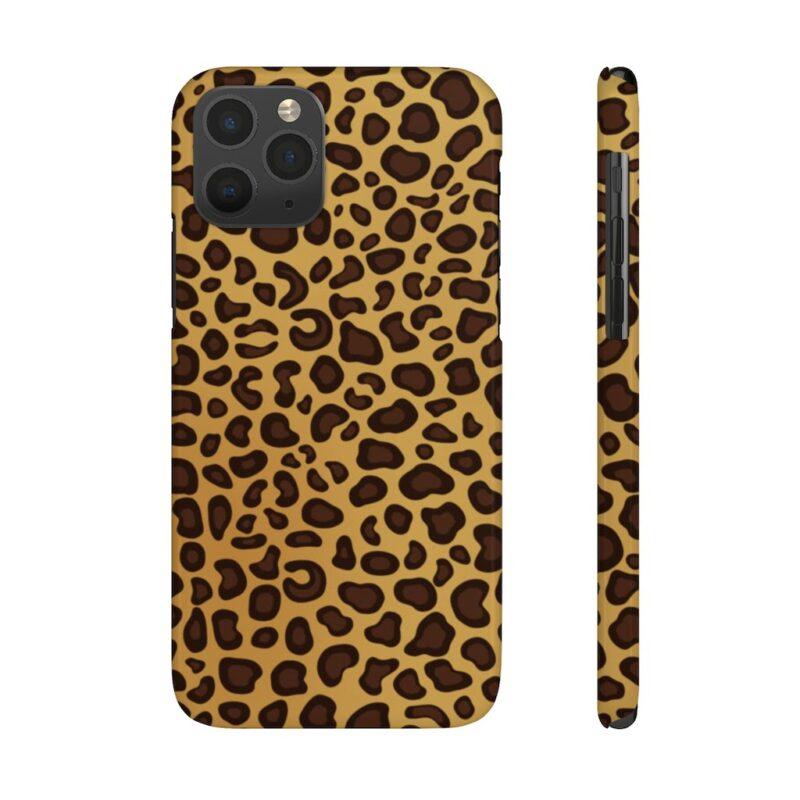 Leopard Printed Case Mate Slim iPhone Cases 13