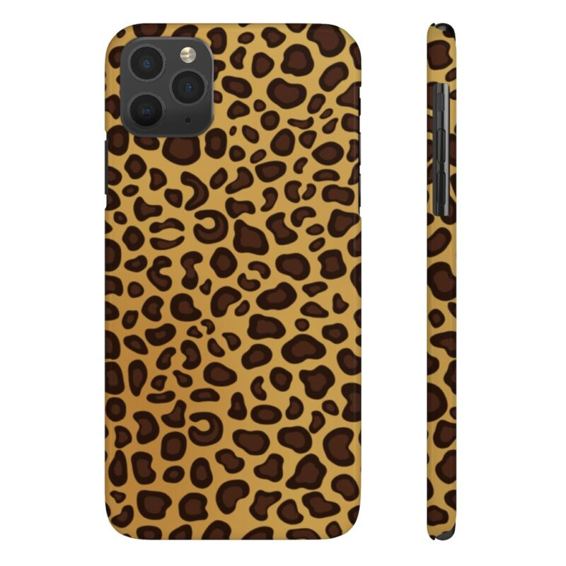 Leopard Printed Case Mate Slim iPhone Cases 1