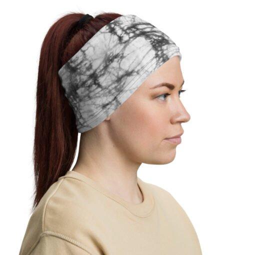 Gray Batick Tie Dye bandana