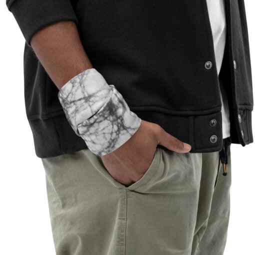 Gray Batick Tie Dye wrist band