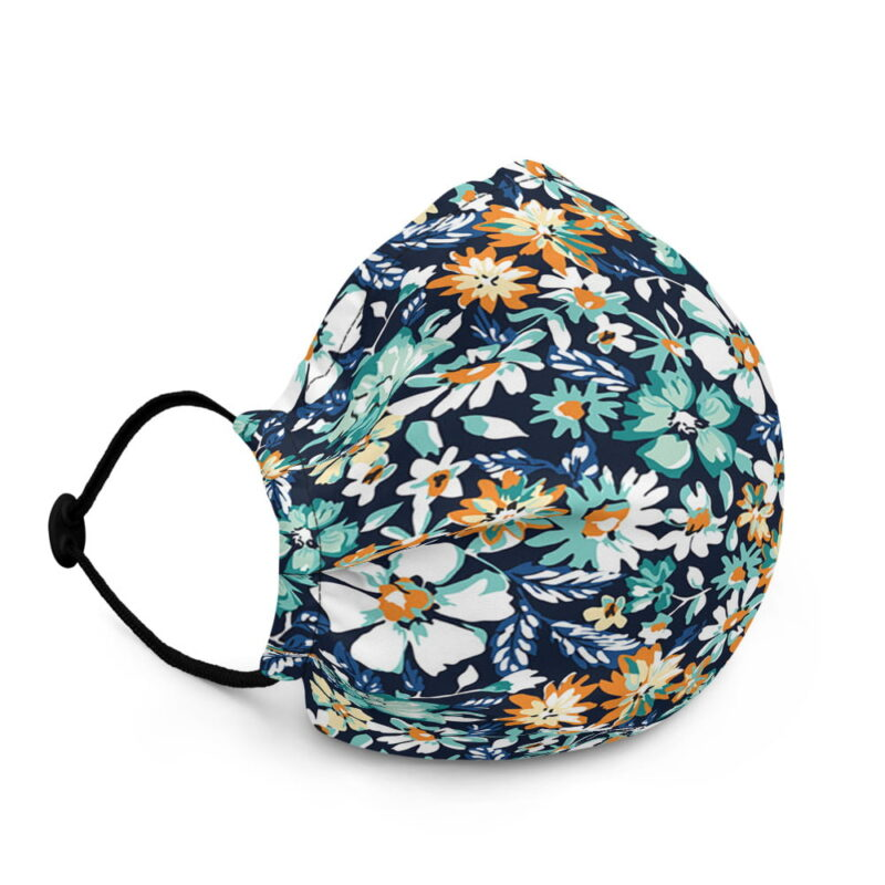 All-Over Floral Premium Face Mask 3