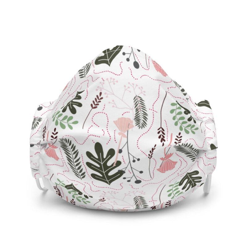 Botanical Printed Premium Face Mask 1