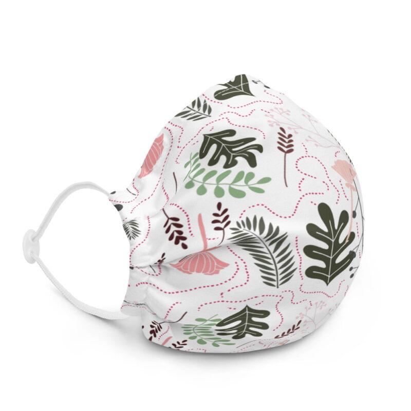 Botanical Printed Premium Face Mask 2