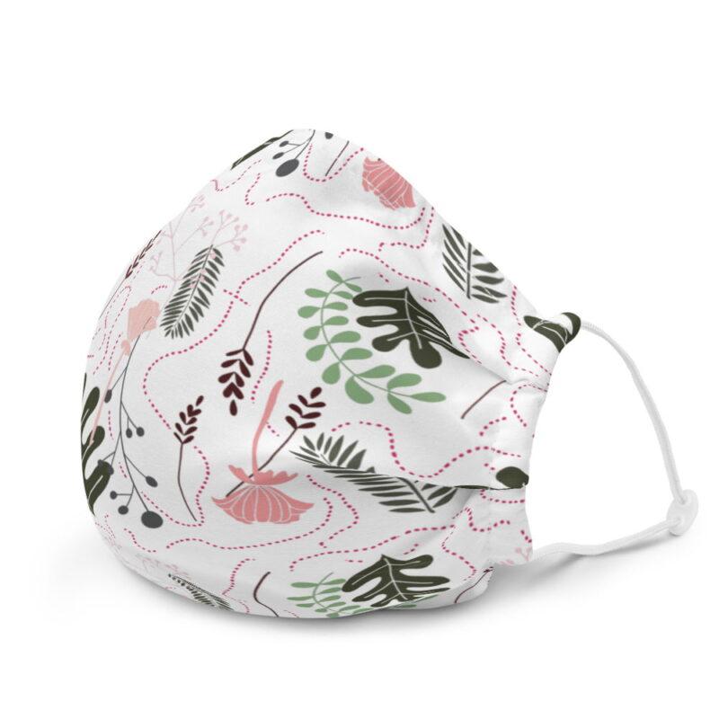 Botanical Printed Premium Face Mask 3