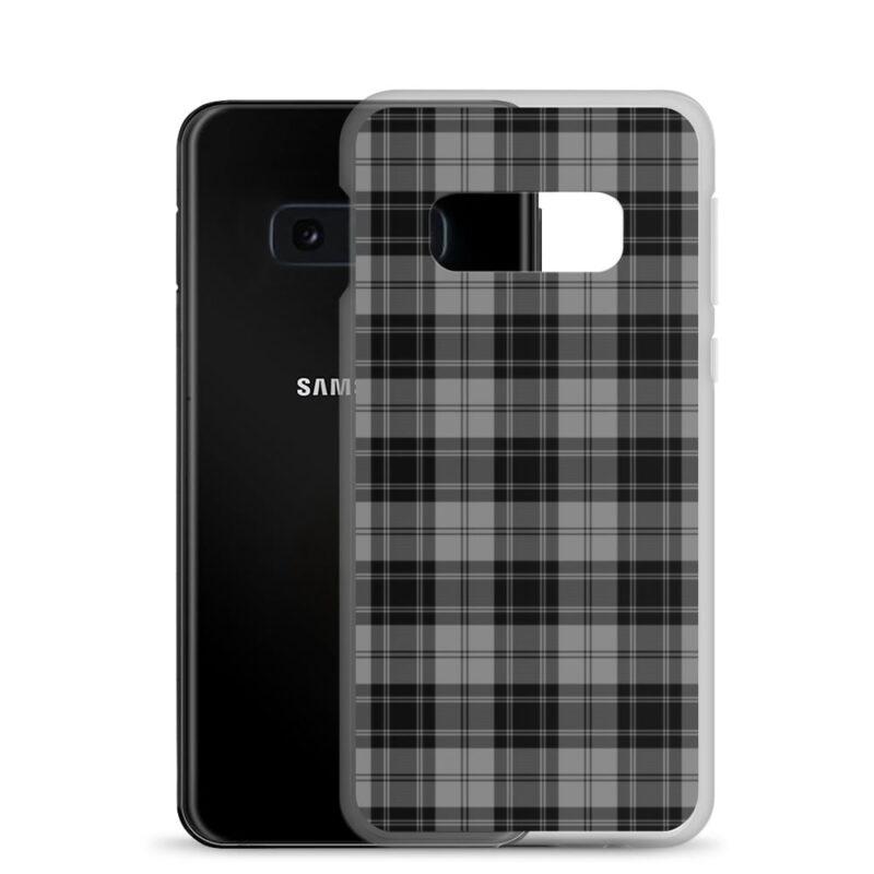Gray Check Samsung Case 5