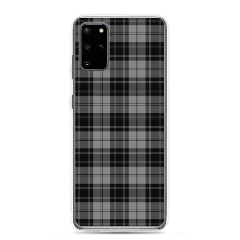 Gray Check Samsung Case 8