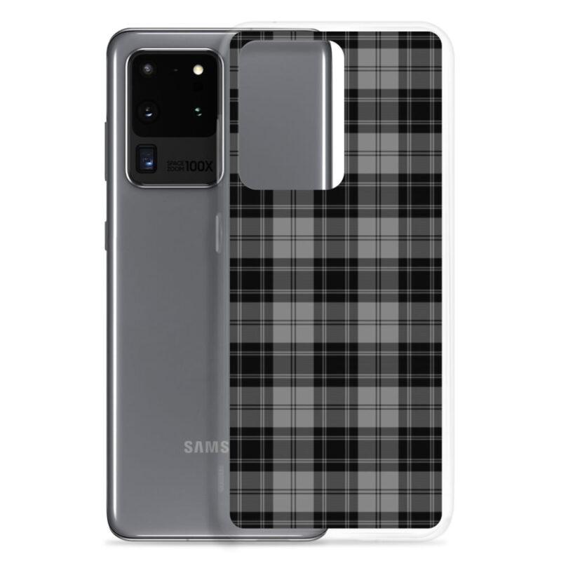 Gray Check Samsung Case 10