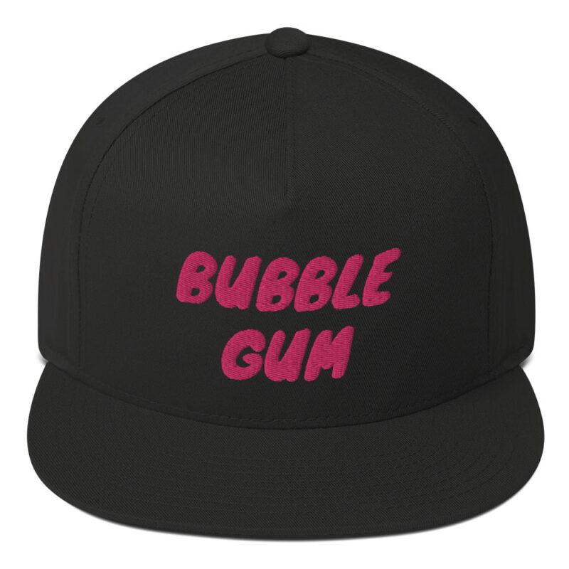 Bubble Gum Flat Bill Cap 1